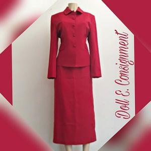 Amanda Smith wool Skirt Suit